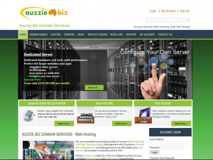Auzzie.Biz Dedicated Servers