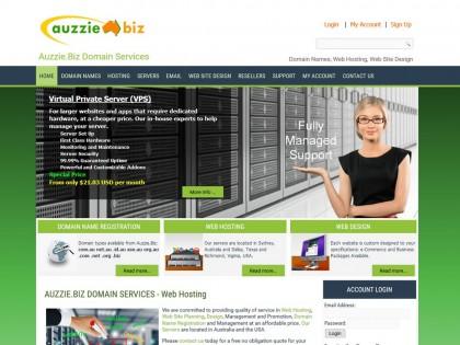 Auzzie.Biz Virtual Servers