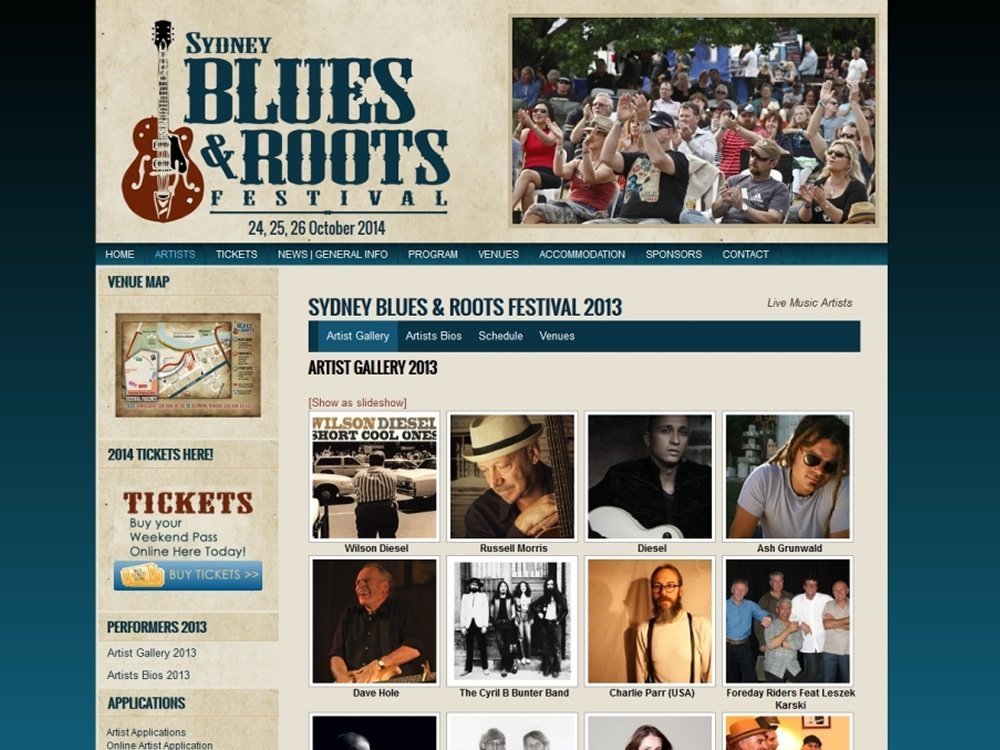 Sydney Blues & Roots Festival 2014