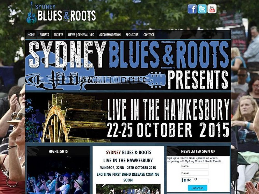 Sydney Blues & Roots Festival 2015