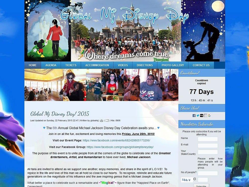 Global Mj Disney Day