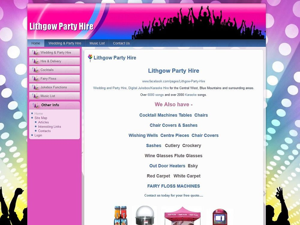 Lithgow Party Hire