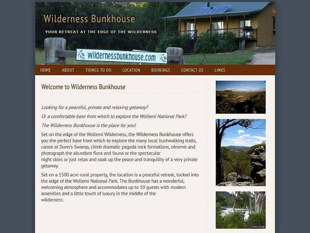 Wilderness Bunkhouse